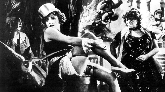 Marlene Dietrich en El ángel azul